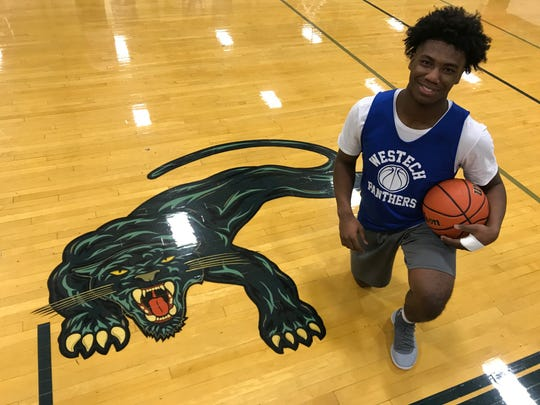 Westampton Tech senior Tyrese Myrick has led the Panthers to their best start in eight seasons.