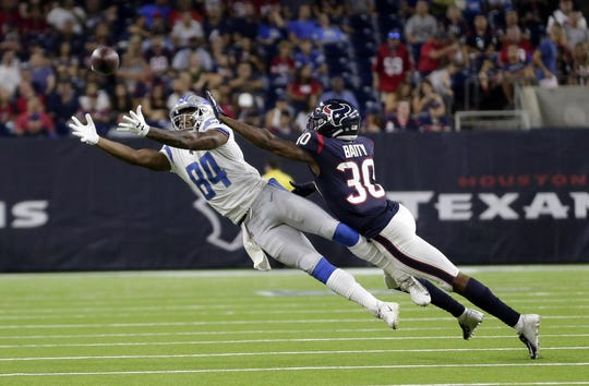 The Lions drafted Old Dominion wide receiver Travis Fulgham in the sixth round, No. 184 overall, in the 2019 NFL Draft.