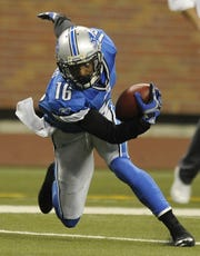 Former Lion Titus Young played in the Senior Bowl.