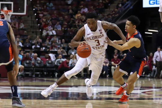 Trent Forrest racked up 12 points, five assists and three rebounds in Saturday's win at Miami.