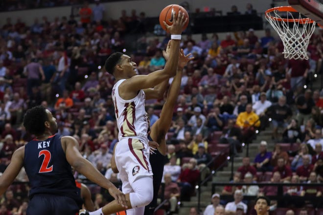Devin Vassell totaled 18 points, five rebounds and three assists in the win against UVA.