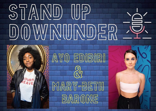 On Jan. 18, Club Downunder hosted a stand-up comedy event featuring Ayo Edibiri and Mary-Beth Barone, which followed a local comedy event from earlier in the week.