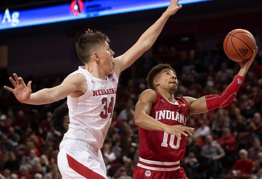 IU basketball offense shows up, gets important road win over Nebraska