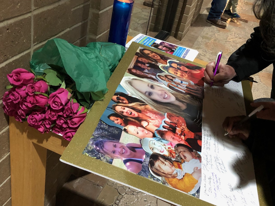 The family of Andrea Knabel, a single mom from Louisville, Kentucky, who has been missing since Aug. 13, 2019, held a prayer vigil for her Saturday, Jan. 18, 2020, at St. Stephen Martyr Church.