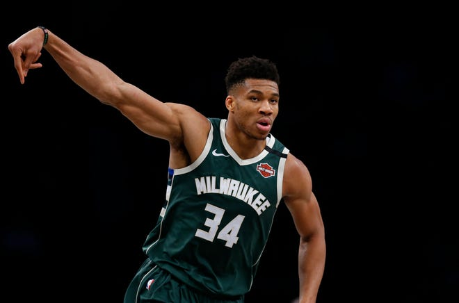 Bucks star Giannis Antetokounmpo is an all-star for the fourth time in his career.
