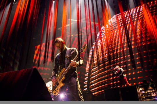 Tool performs at Gila River Arena on Jan. 18, 2020 in Glendale.