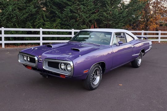 This real 1970 Dodge Super Bee is a restoration of an original factory Super Bee.