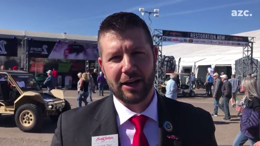 Hear a Barrett-Jackson auctioneer's tips for how to talk and sell fast