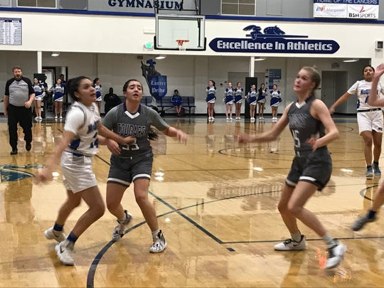 Spanish Springs beat McQueen, 52-24, in girls basketball on Friday.