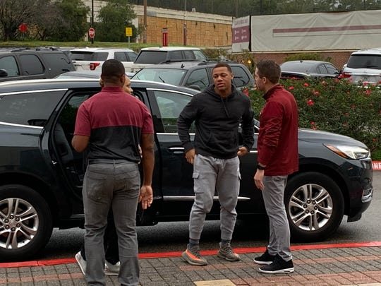 Three-star safety Donovan Kaufman on his official visit to FSU.