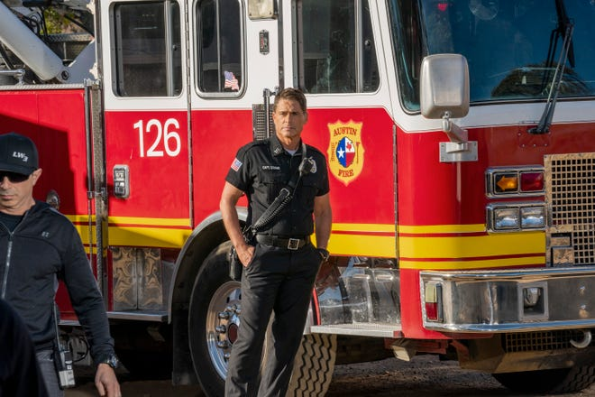 Owen Strand (Rob Lowe) is a New York firefighter trying to resuscitate an Austin, Texas, fire company that suffered devastating loss in Fox's '9-1-1: Lone Star.'