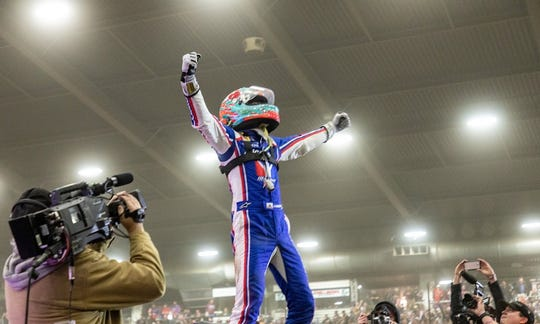 Kyle Larson finally wins the Chili Bowl, his most prized race