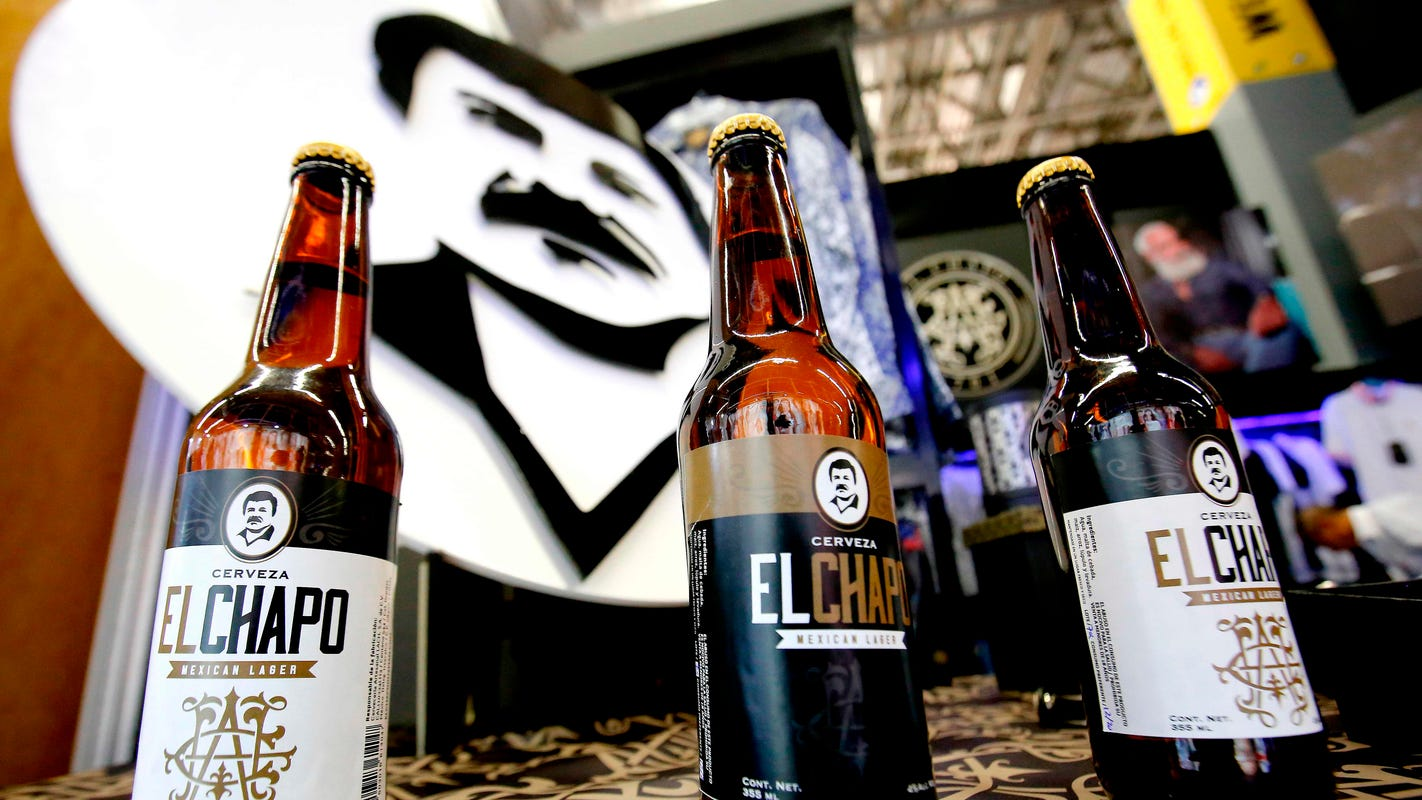 El Chapo 701 craft lager coming soon thanks to drug lord's daughter