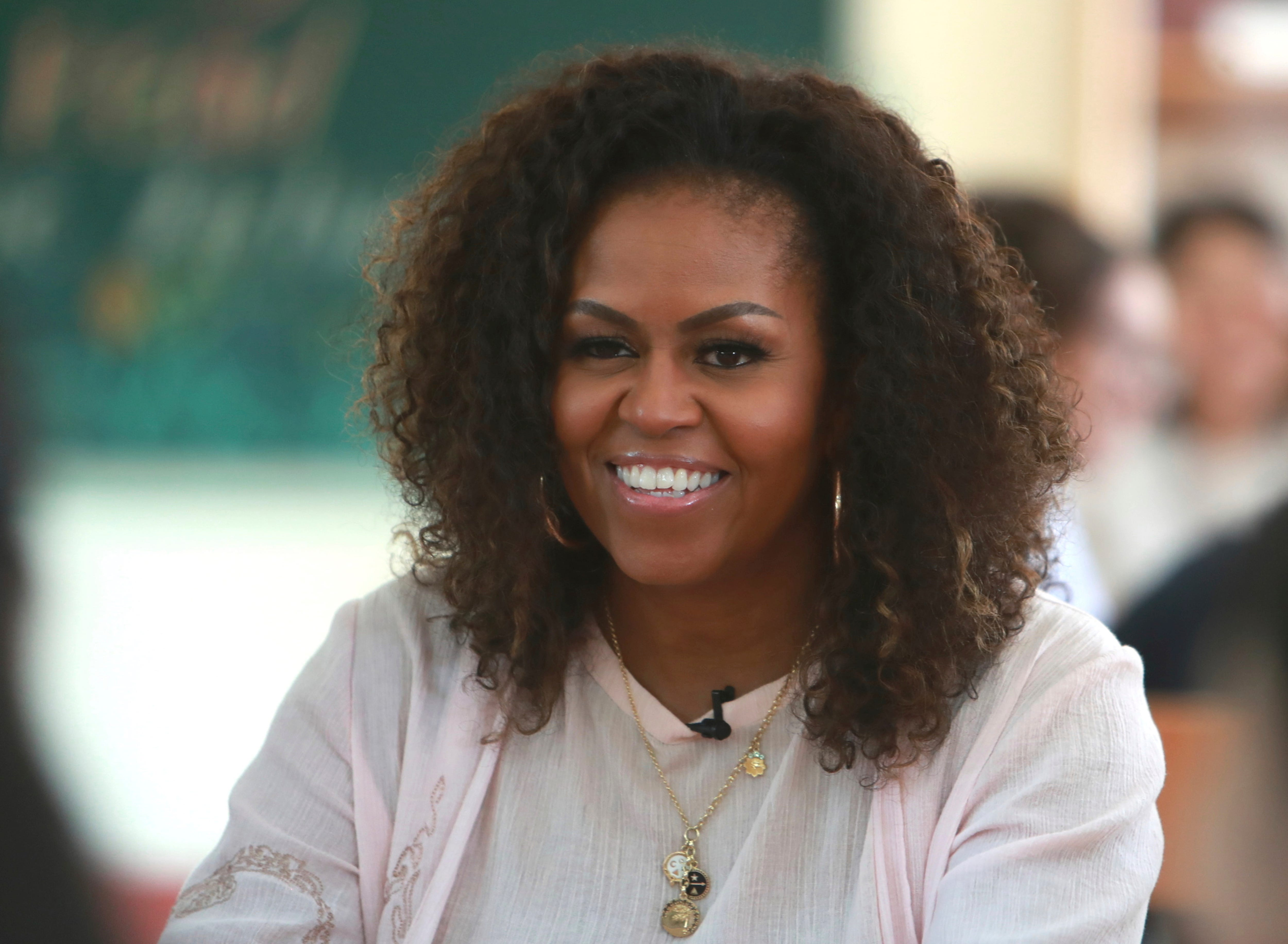 Michelle Obama listens to Lizzo, Nipsey Hussle and Ed Sheeran on her 2020 workout playlist