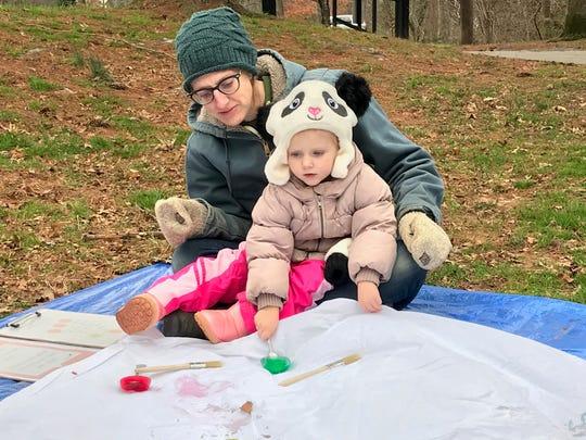 """It's really bringing childhood back,"" Sivanne Lieber, a Tinkergarten leader in Asheville, said."