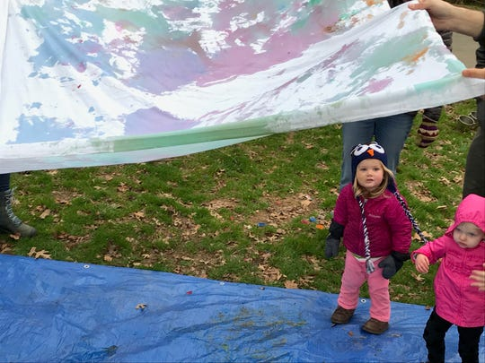 """""""This is really good practice for us as parents to let the kids lead and we start taking cues from the kids,"""" Asheville-resident Emily Roeden said."""