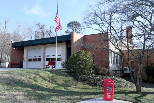 Asheville Fire Department Station 7 is located at 37 East Larchmont in North Asheville.