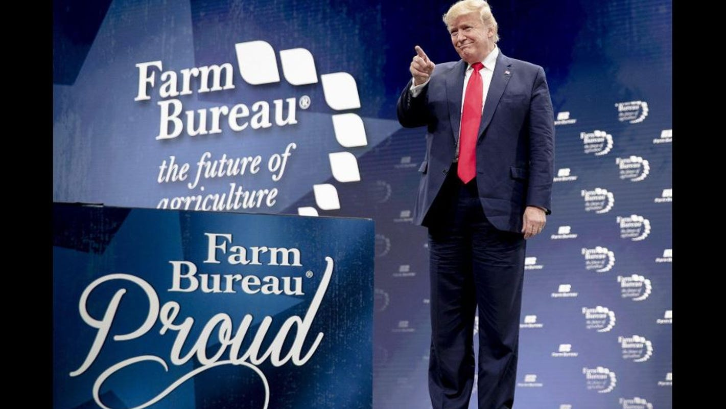 Trump in Austin: For farmers, Trump and trade deals a winning ticket