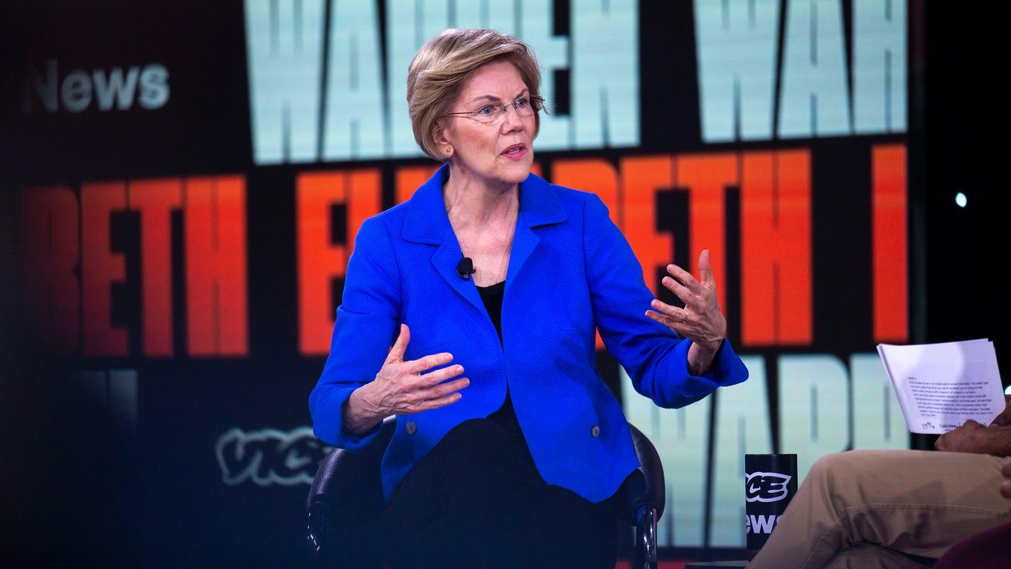 Elizabeth Warren gets endorsement of El Paso lawmakers in presidential bid