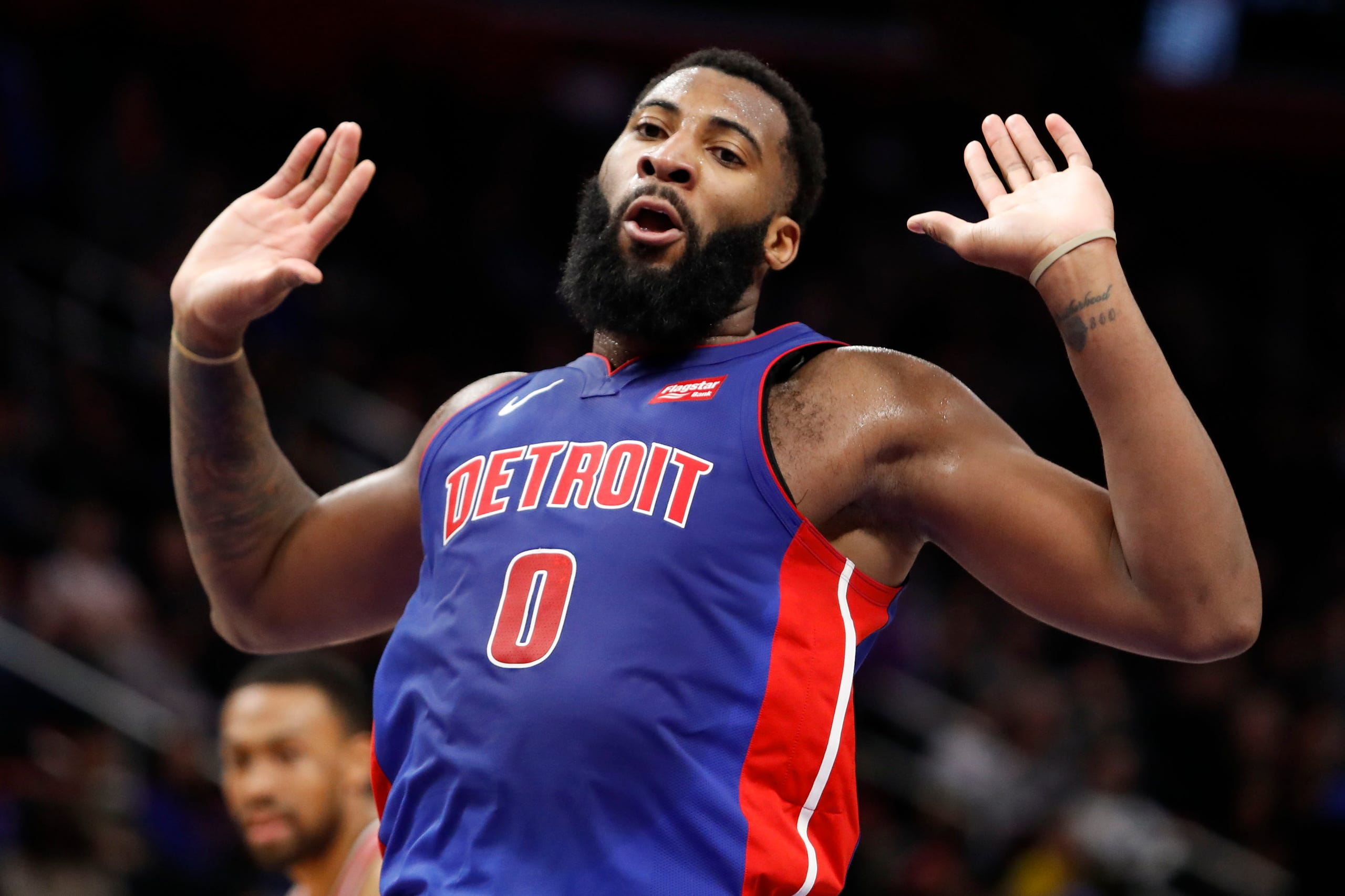Image result for andre drummond's hubris knows no bounds