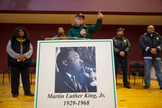 Hundreds take part in Michigan's oldest, largest MLK Day walk