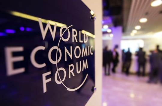 Global business, academic and political leaders are gathering in Davos, Switzerland for the annual World Economic Forum that begins today.