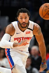 Derrick Rose is getting noticed around the league, as the L.A. Lakers, L.A. Clippers and Philadelphia have reportedly asked the Pistons about trading for Rose.