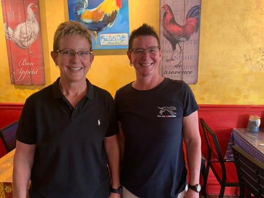 Owners Trasi Sharp and Liza Clouse took over Sanibel's Over Easy Cafe in 2007