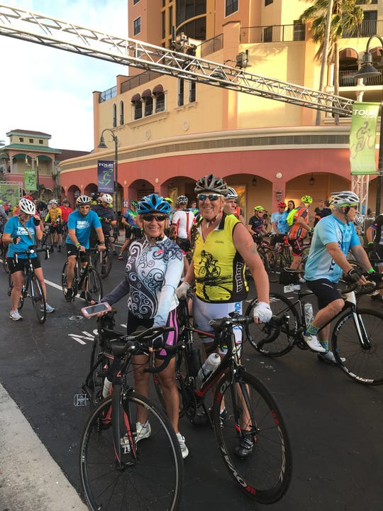 Mark and Barb Burgeson were two of about 750 cyclist to compete in the 29th annual Tour De Cape. The Burgesons cycled in the 30 miler for the second time.