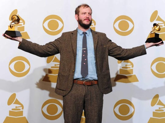 Justin Vernon of Bon Iver collected two Grammy Awards in 2012. Signed to Indiana recording label Jagjaguwar, Bon Iver is a nominee in four categories this year.