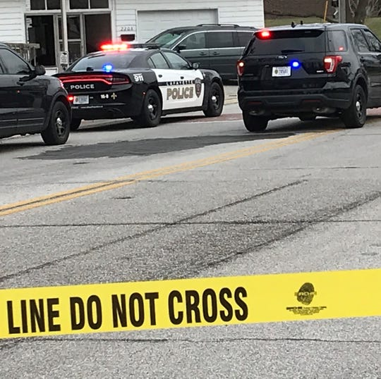 Lafayette police closed a section of State Street on Monday, Jan. 20, 2019, as they investigated after a police officer shot and killed a man at the corner of 23rd and State streets. LPD officers say they were responding to a 911 call about a man at that intersection with a gun.