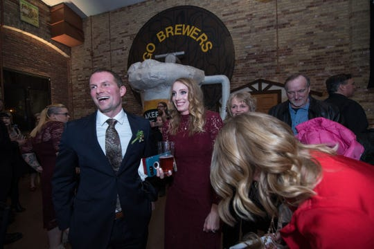 Lakefront Brewery and Black Husky Brewing will each perform weddings on Valentine's Day.