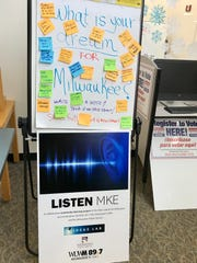 The Listen MKE team asked people at the Martin Luther King Library today: What is your dream for Milwaukee? They enthusiastically told us.
