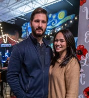Ed and Breeanna Jeske of Lisbon host an event at Uptown Art in Sussex on Saturday, Jan. 18 to thank the community for the support they received after their home burned down just before Christmas.