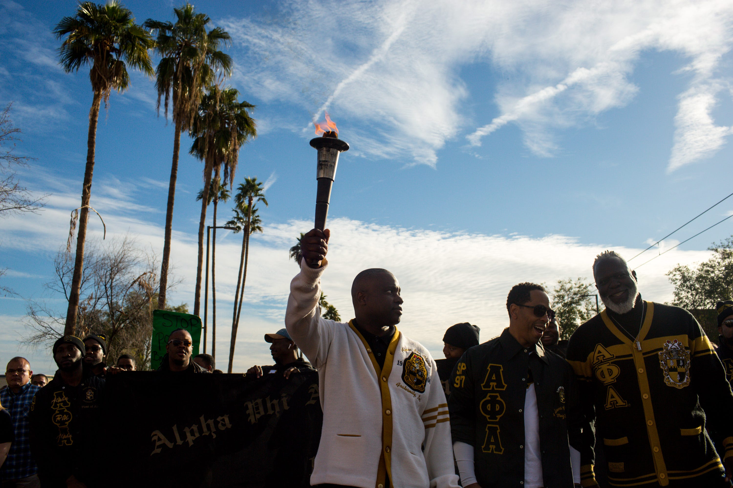 Crowds march to celebrate MLK Day in Phoenix and Mesa