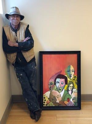Artist Paul Kicklighter will begin a series of lessons Saturday at Martin Library.
