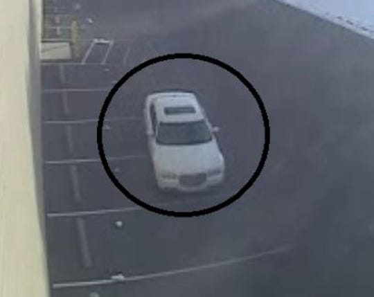 The getaway vehicle in a retail theft case at the Target in Springettsbury Township.