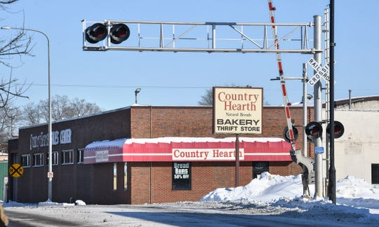 The Country Hearth Bakery Thrift Store is pictured Monday, Jan. 20, 2020, in St. Cloud.