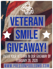An Anderson dentist plans to give away $10,000 worth of dental makeover services to an eligible area veteran. Nominate a veteran at prestonpooledmd.com.