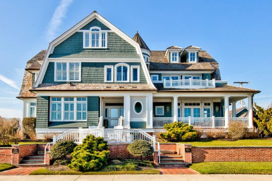 107 Ocean Avenue in Sea Girt occupies an iconic area an offers 150 feet of Ocean frontage.