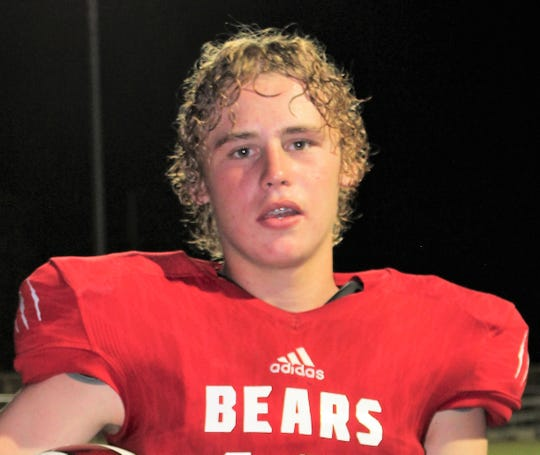 Baird sophomore Cedar Cauble is the All-Big Country Class 1A newcomer of the year.