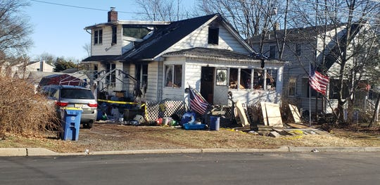 A fire badly damaged a house on Quick Avenue in Raritan Borough on Sunday evening