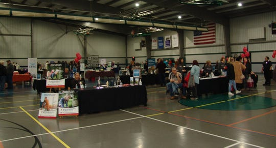 Thirty vendors participated in the annual Health, Safety and Wellness Expo at Kids America.  It was co-sponsored by the Coshocton County Chamber of Commerce, Coshocton Regional Medical Center and Coshocton County Safety Council.