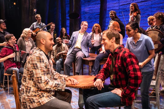 """""""Come From Away"""" will be performed at the Des Moines Civic Center from Jan. 28 to Feb. 2."""