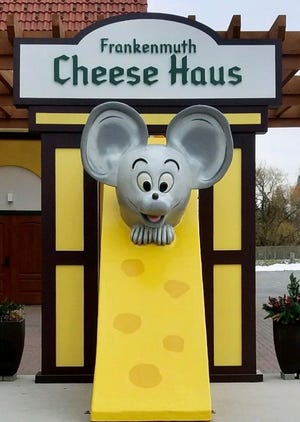 Frankenmuth's Cheese Haus is having a contest to name their mouse.