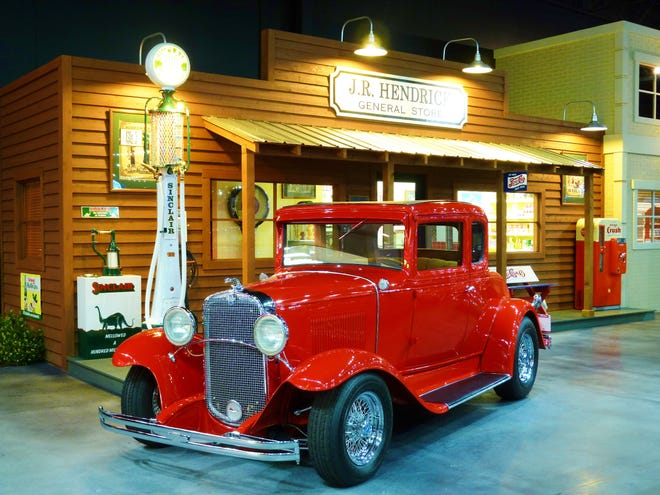 The first car Rick Hendrick built with his father. A 1931 Chevrolet, sits in his Heritage Center collection in Concord, North Carolina.