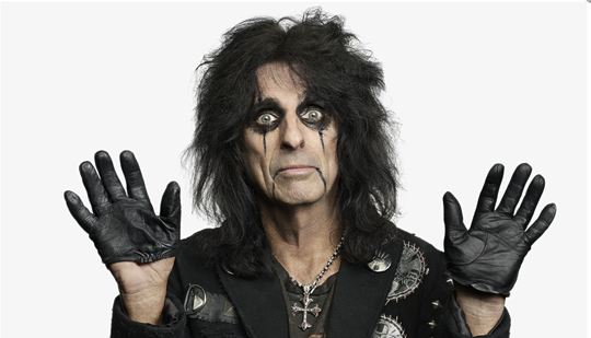 Alice Cooper will appear at Motor City Comic Con in May.
