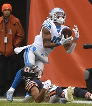 Wide receiver Kenny Golladay isthe Lions' first offensive skill position player to be named to the Pro Bowl since wide receiver Calvin Johnson earned his sixth and final nod for the 2015 season.