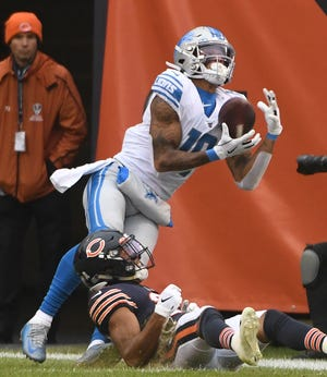 Wide receiver Kenny Golladay is the Lions' first offensive skill position player to be named to the Pro Bowl since wide receiver Calvin Johnson earned his sixth and final nod for the 2015 season.