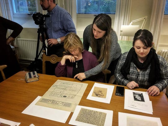 "A team of FGCU students and archivists went to Germany and Sweden to research and collect artifacts to show in their exhibit: ""To Life: The Liberation of Ravensbrück."" Photo was taken by FGCU and provided to The News-Press."